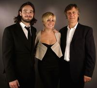 Charlie Cox, Sienna Miller and Lasse Hallstrom at the AFI Fest 2005 in California.