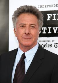 Dustin Hoffman at the Los Angeles Film Festival 2007 Spirit Of Independence Award Ceremony.