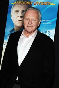 Anthony Hopkins at the N.Y. screening of