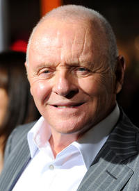 Anthony Hopkins at the California premiere of