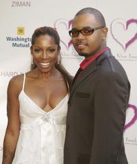 A.J. Johnson and Rodney Gadson at the 2nd Annual Gala Dinner Benefiting the Chaka Khan Foundation.