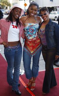 Toy Conner, A.J. Johnson and Carla Renata Williams at the premiere of
