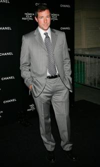Ed Burns at the Chanel Tribeca Film Festival Dinner in New York City.