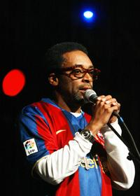 Spike Lee at the northern Spanish Basque town of Vitoria for the 31st Vitoria Jazz Festival.