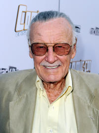 Executive producer Stan Lee at the California premiere of