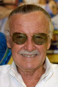 Stan Lee at the premiere of his new comic book project