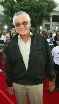 Stan Lee at the after-party for the premiere of