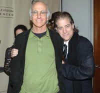 Larry David and Richard Lewis at the ATAS presents An Evening with