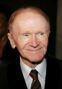 Red Buttons at the Academy of Television Arts and Science's reception for Emmy Award nominees.