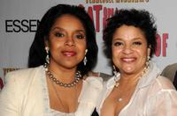Phylicia Rashad and Debbie Allen at the after party of the opening of