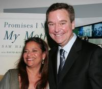 Debbie Allen and Sam Haskell at the celebration honoring Haskell and the publication of his memoir