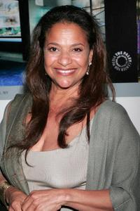 Debbie Allen at the celebration honoring Haskell and the publication of his memoir