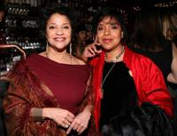 Debbie Allen and Phylicia Rashad at the New York Magazine Oscar Viewing Party.