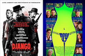 Unofficial Running Time, New 'Django' Poster Revealed, 'Movie 43' Tempts with Female Figure