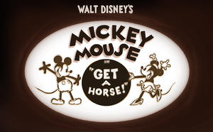 'Get a Horse!': How Disney Animators Put Walt Disney As Mickey Mouse in a New Short