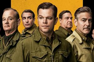 George Clooney Pushes 'The Monuments Men' to 2014