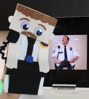Make Your Own Mini Mall Cop