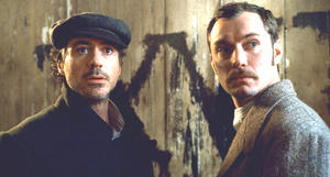DVD: Pic of the Week 'Sherlock Holmes.' Plus: 'Alvin and the Chipmunks: The Squeakquel,' 'An Education'