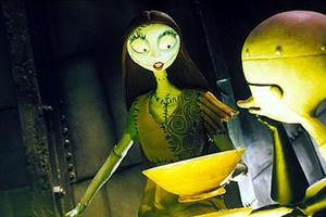 """A scene from """"The Nightmare Before Christmas."""""""