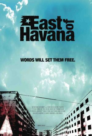 """Poster art for """"East of Havana."""""""