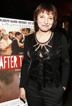 "Director Susanne Bier at the N.Y. premiere of ""After the Wedding."""