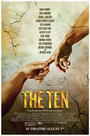 "Poster art for ""The Ten."""