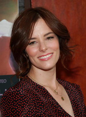 """Broken English"" star Parker Posey at the N.Y. premiere."