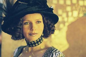 "Veronica Ferres as Midi in ""Klimt."""