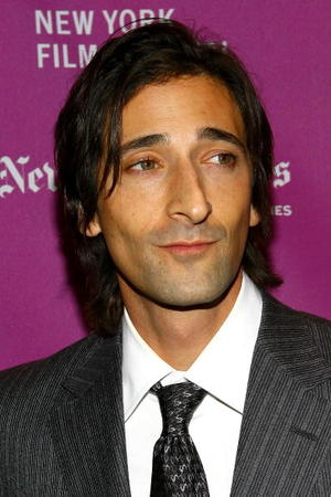 """The Darjeeling Limited"" star Adrien Brody at the premiere during the New York Film Festival."