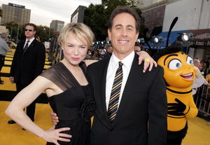 """""""Bee Movie"""" stars Renee Zellweger and Jerry Seinfeld at the L.A. premiere."""