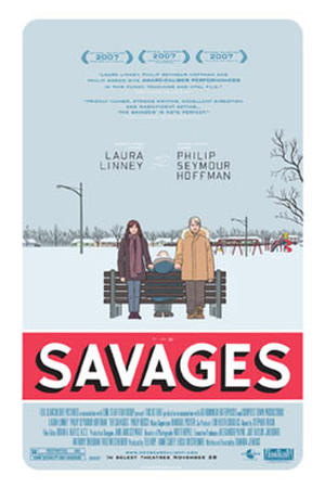 """Poster art for """"The Savages."""""""