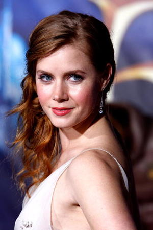 """""""Enchanted"""" star Amy Adams at the L.A. premiere."""