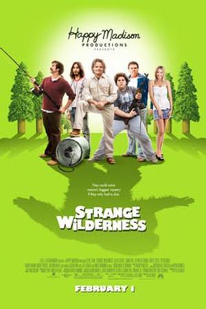 """Poster art for """"Strange Wilderness."""""""