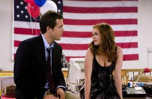 "Ryan Reynolds and Isla Fisher in ""Definitely, Maybe."""