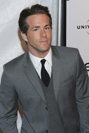 "Actor Ryan Reynolds at the N.Y. premiere of ""Definitely, Maybe."""