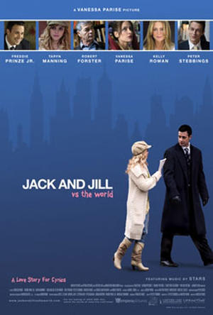 "Poster art for ""Jack and Jill vs. the World."""