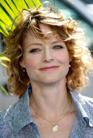 "Actress Jodie Foster at the Hollywood premiere of ""Nim's Island."""