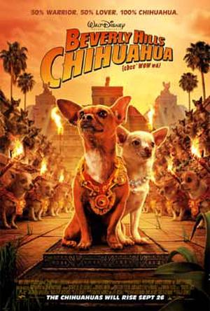 """Poster art for """"Beverly Hills Chihuahua."""""""