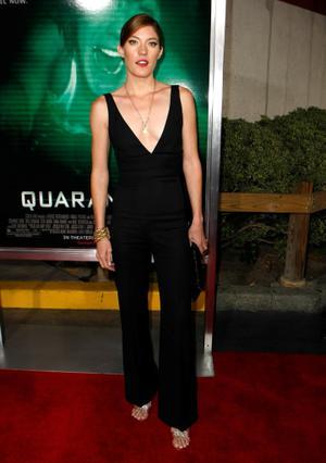 "Jennifer Carpenter at the California premiere of ""Quarantine."""