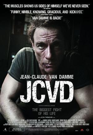 """Poster Art for """"JCVD."""""""