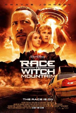 """Poster Art for """"Race to Witch Mountain."""""""