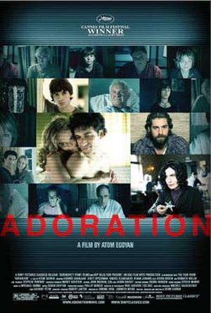 "Poster art for ""Adoration."""