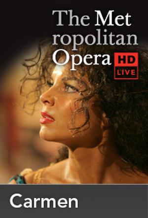 "Poster art for ""The Metropolitan Opera: Carmen."""