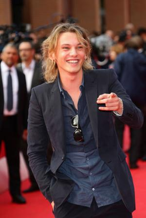 "Jamie Campbell Bower at the Italy premiere of ""The Twilight Saga: New Moon."""