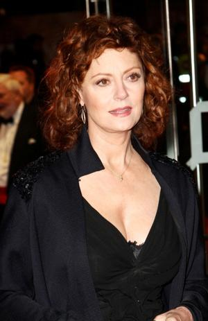 "Susan Sarandon at the London premiere of ""The Lovely Bones."""