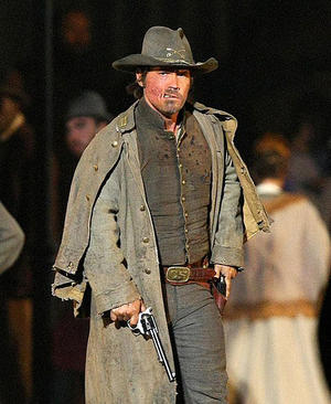 "Josh Brolin as Jonah Hex in ""Jonah Hex."""