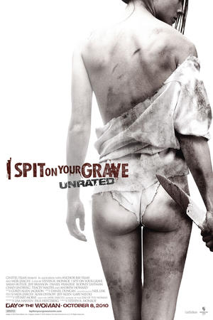 "Poster art for ""I Spit on Your Grave"""