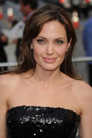 """Angelina Jolie at the California premiere of """"Salt."""""""