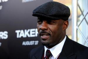"Idris Elba at the California premiere of ""Takers."""