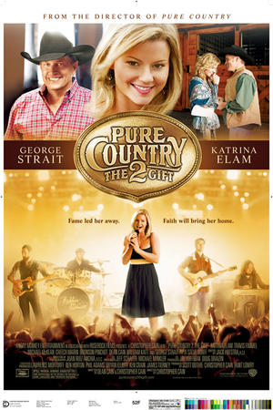 """Poster art for """"Pure Country 2: The Gift"""""""